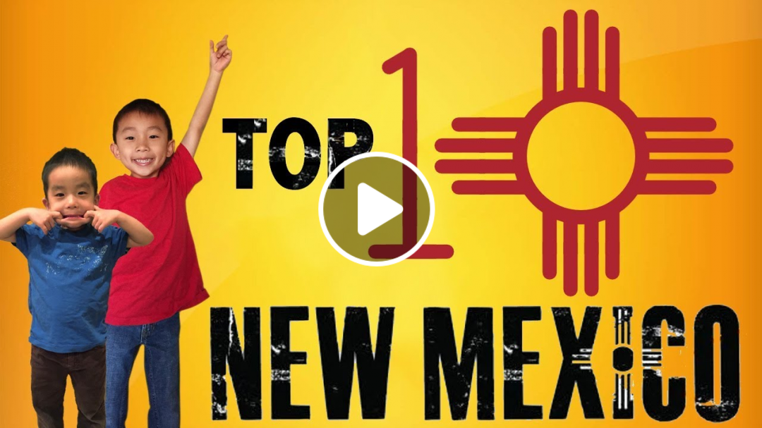 New Mexico with Kids (Top 10 Things to do in New Mexico) Land of Enchantment Must Do Attractions