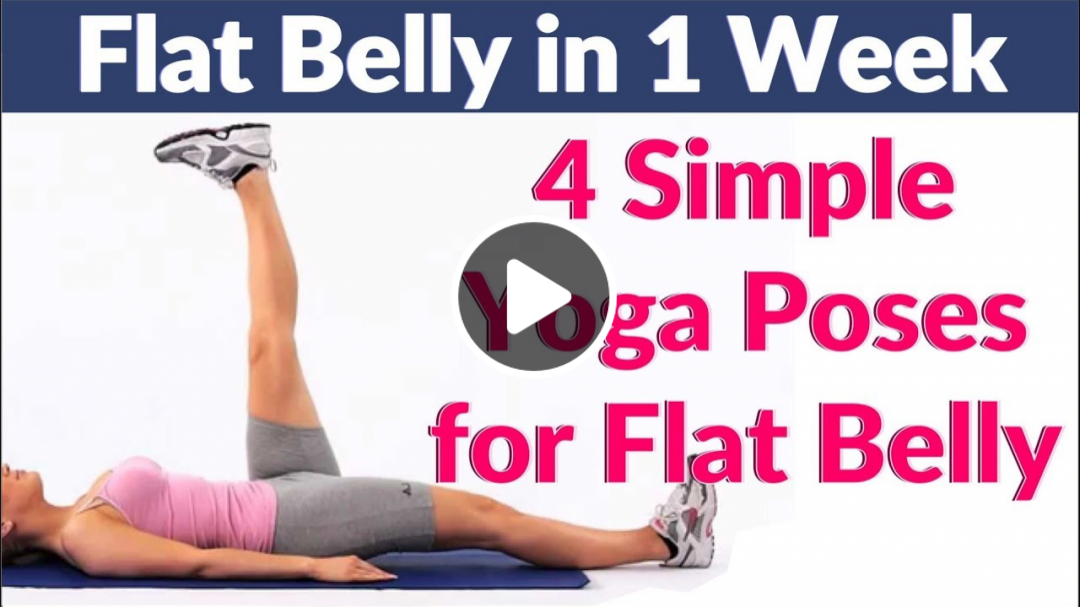 Simple Yoga Exercises to Reduce Belly Fat Fast | Yoga Poses for Flat Stomach & Weight Loss